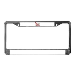 Pageant Granny License Plate Frame