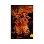 Hawaii - Polynesian Dancers Magnet