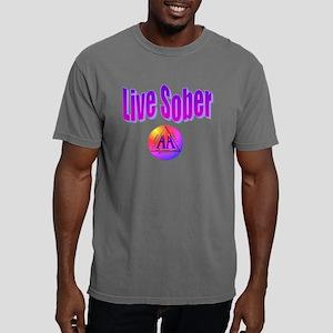 live-sober-aa Mens Comfort Colors Shirt
