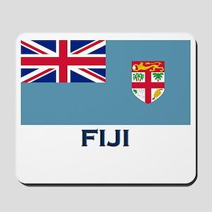 Fiji Flag Gear Mousepad