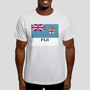 Fiji Flag Gear Ash Grey T-Shirt