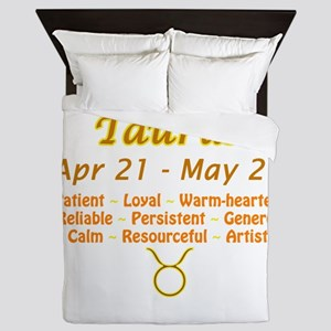 Taurus Description Queen Duvet