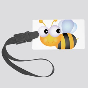 Cute Bee Large Luggage Tag