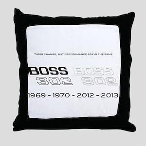 Mustang Boss 302 Throw Pillow