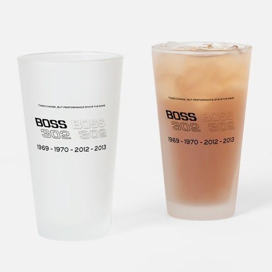 Mustang Boss 302 Drinking Glass