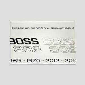 Mustang Boss 302 Rectangle Magnet