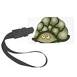 Cute Turtle Large Luggage Tag