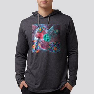 Viral infection, conceptual artw Mens Hooded Shirt