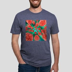 Viral infection, conceptual Mens Tri-blend T-Shirt