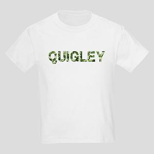Quigley, Vintage Camo, Kids Light T-Shirt