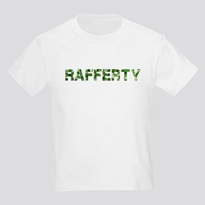 Rafferty, Vintage Camo, Kids Light T-Shirt