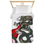 Dragon Bass 01 Twin Duvet