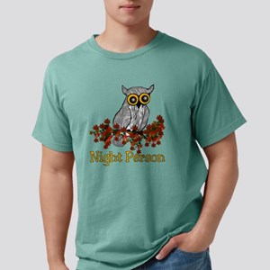 nightowl01 Mens Comfort Colors Shirt
