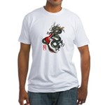 Dragon Bass 01 Fitted T-Shirt