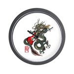 Dragon Bass 01 Wall Clock