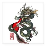 Dragon Bass 01 Square Car Magnet 3