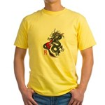 Dragon Bass 01 Yellow T-Shirt