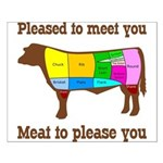 Meat to Please You Small Poster