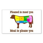 Meat to Please You Sticker