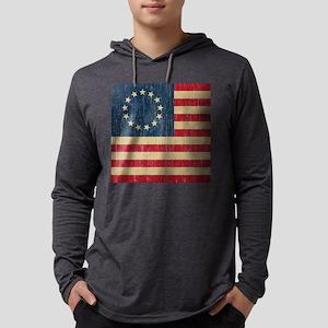VintageBetsyRoss Mens Hooded Shirt