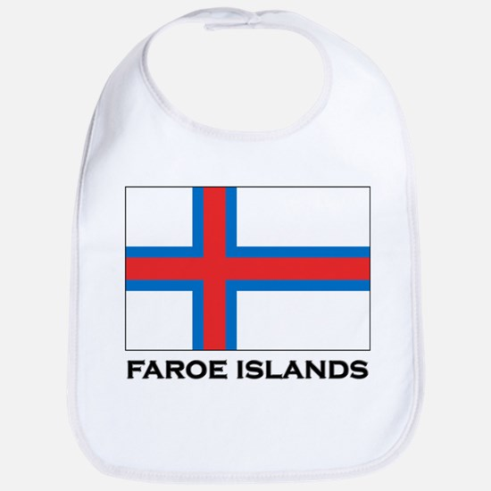 The Faroe Islands Flag Stuff Bib