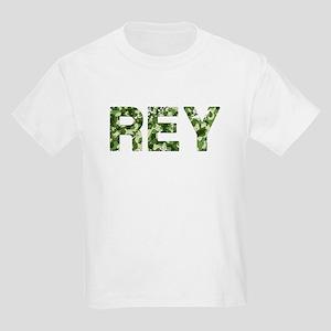 Rey, Vintage Camo, Kids Light T-Shirt