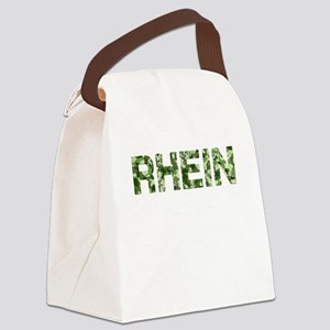 Rhein, Vintage Camo, Canvas Lunch Bag