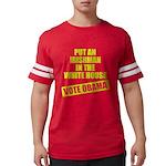 voteobama_dark.pn... Mens Football Shirt