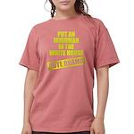 voteobama_dark.pn... Womens Comfort Colors Shirt
