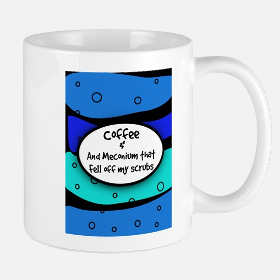 coffee and meconium 5.PNG Mug