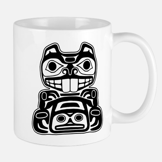 Beaver Native American Design Mug