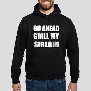 Grill My Sirloin Hoodie (dark)