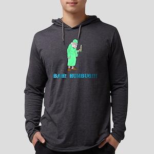 Humbug2BlackTShirtFront Mens Hooded Shirt