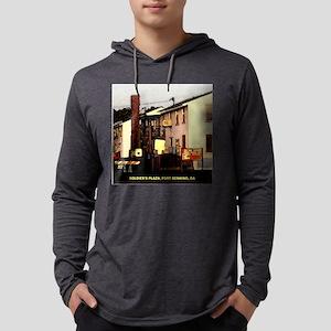 SPLINTER TILE Mens Hooded Shirt