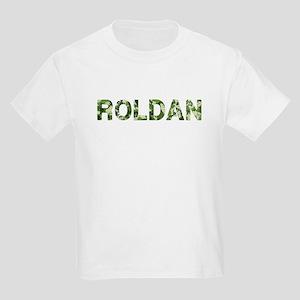 Roldan, Vintage Camo, Kids Light T-Shirt