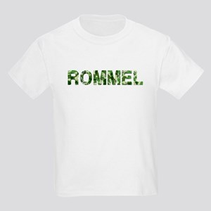 Rommel, Vintage Camo, Kids Light T-Shirt