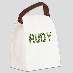 Rudy, Vintage Camo, Canvas Lunch Bag