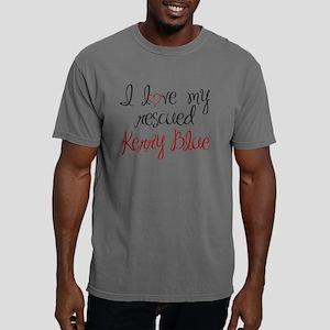 kerryblueterrier2 Mens Comfort Colors Shirt
