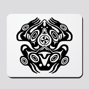 Frog Native American Design Mousepad