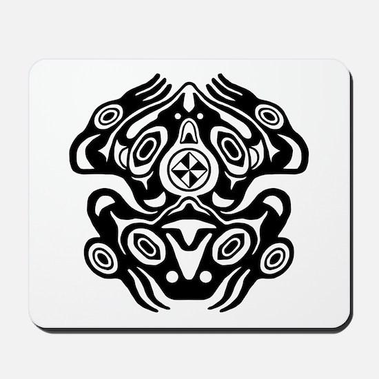 Frog Native American Design Mousepad