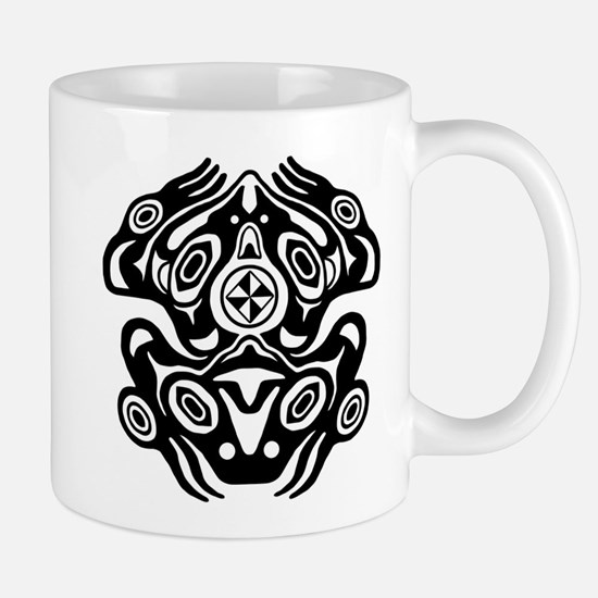 Frog Native American Design Mug