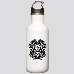 Frog Native American Design Stainless Water Bottle