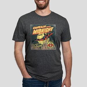 CMX-CaptMidnight-KidWarrior Mens Tri-blend T-Shirt