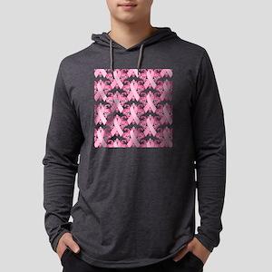 PinkribbonLLLpsq Mens Hooded Shirt