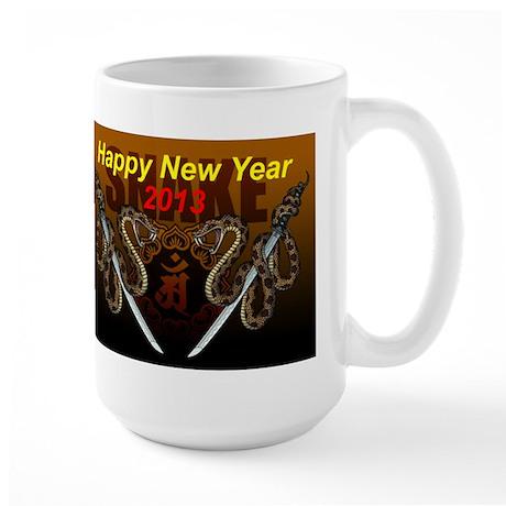 2013snake8 Large Mug