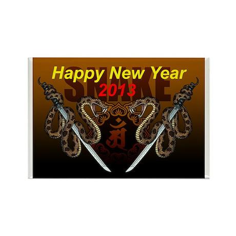 2013snake8 Rectangle Magnet (10 pack)