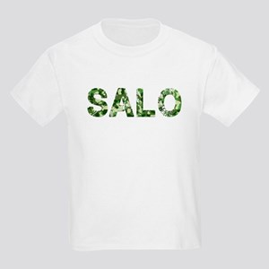 Salo, Vintage Camo, Kids Light T-Shirt