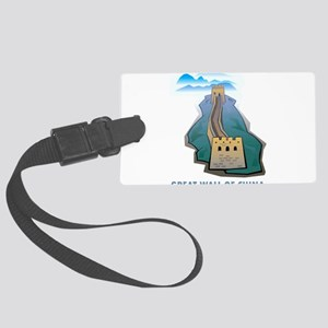 Great Wall Of China Large Luggage Tag