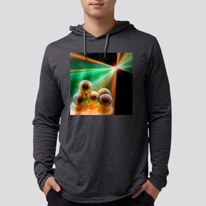 Stem cell research, conceptual a Mens Hooded Shirt