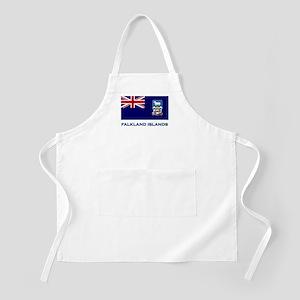 The Falkland Islands Flag Stuff BBQ Apron